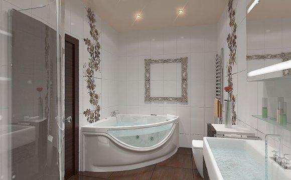 Дизайн для ванны 1.2 м