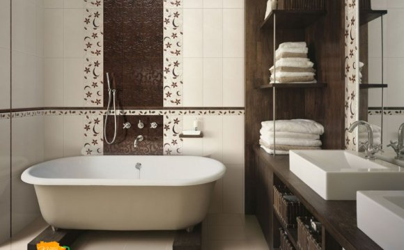 стильная ванная комната с