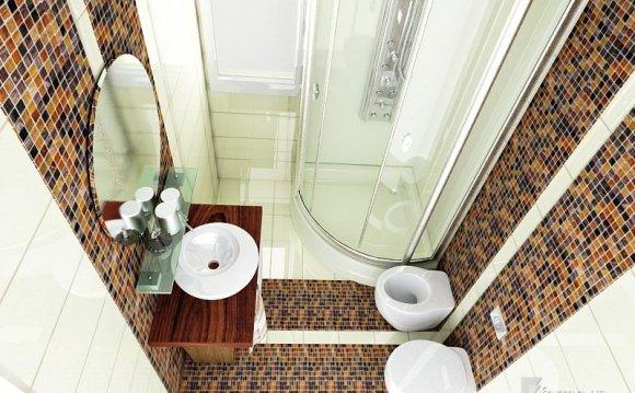 Ванная комната 2х2 дизайн