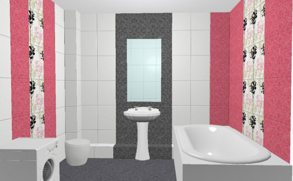 плитка в ванной интерьере фото